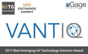 Vantiq 2017 best emerging iot technology soultion award