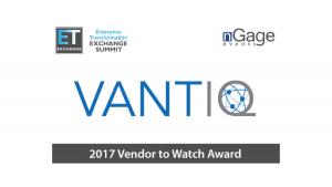 VANTIQ 2017 Vendor to Watch Award logo