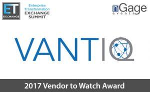 VANTIQ Vendor to Watch Logo