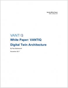 VANTIQ Digital Twin Architecture