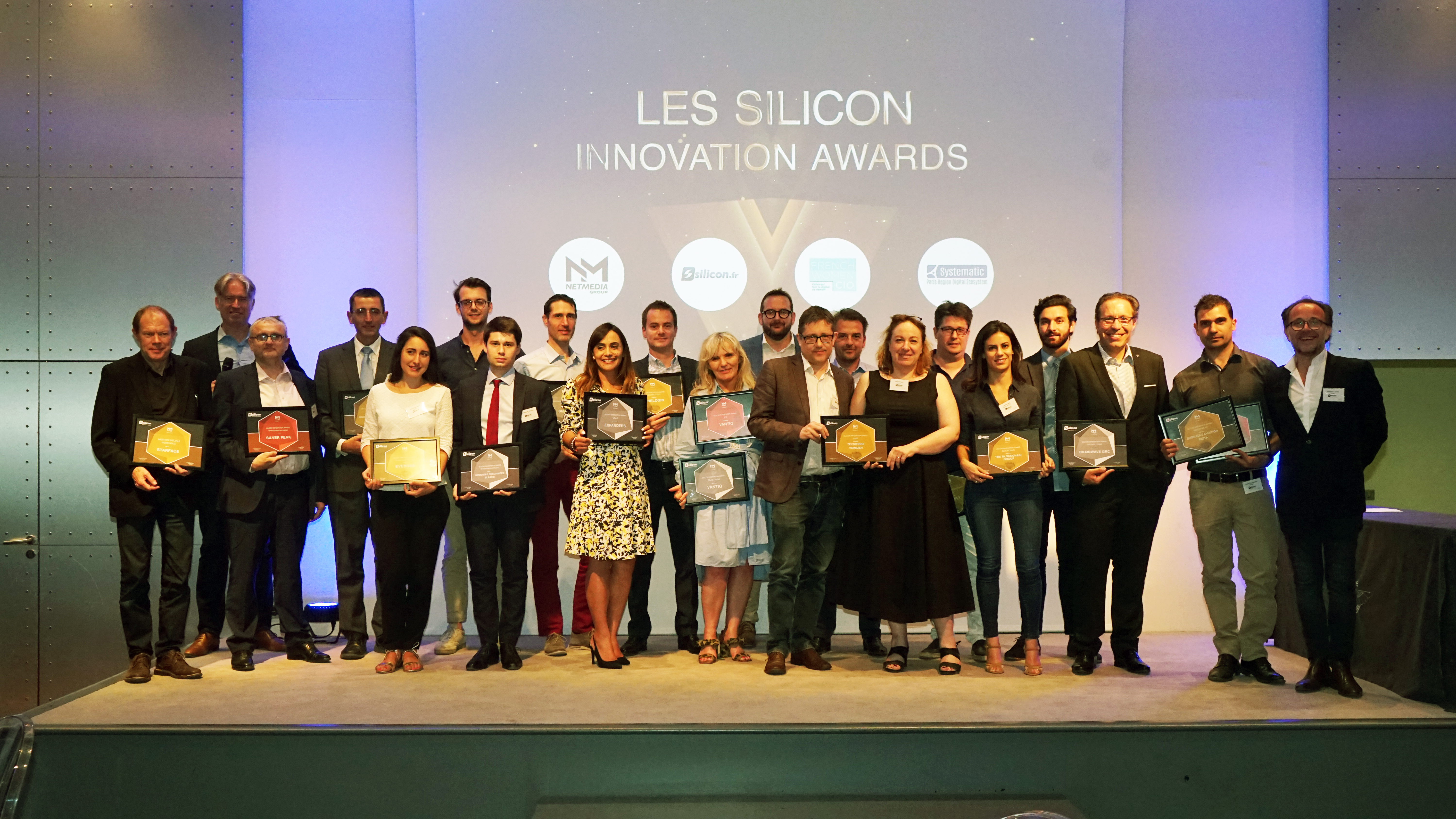 all of the winners at the silicon innovation awards 2019