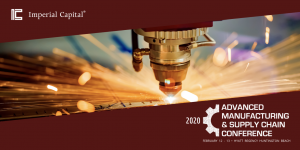 advanced manufacturing and supply chain conference banner