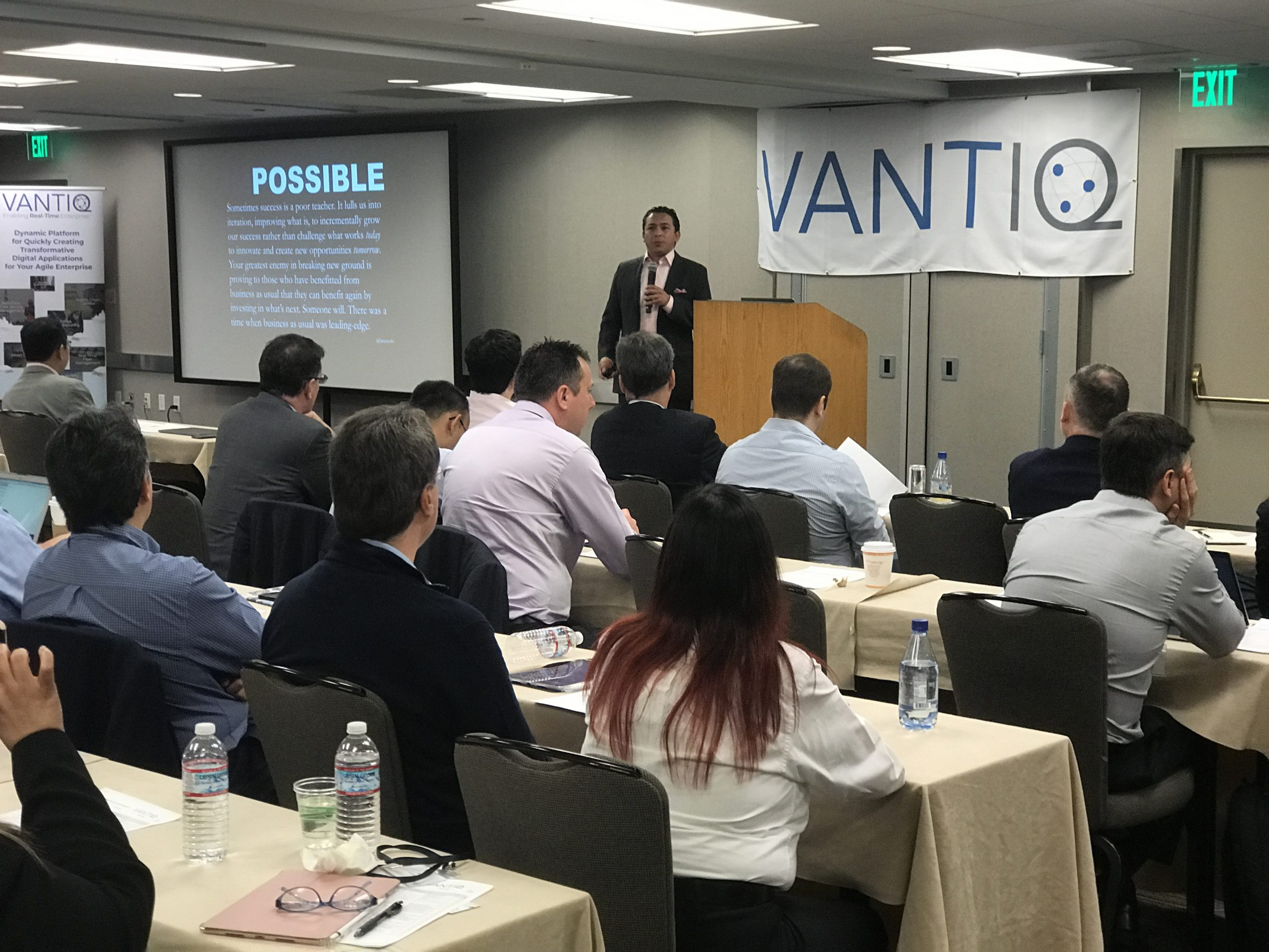 Industry Analyst Brian Solis opened a revealing discussion of how CX is critical to any digital transformation project at 2018 VANTIQ Global Partners Summit in San Francisco