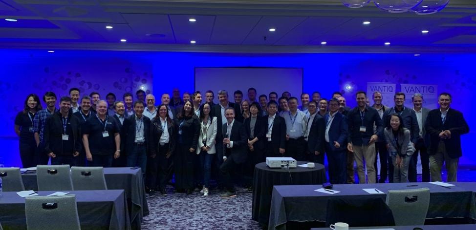 Group photo at VANTIQ GPS 2019