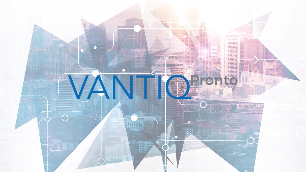 VANTIQ Pronto logo