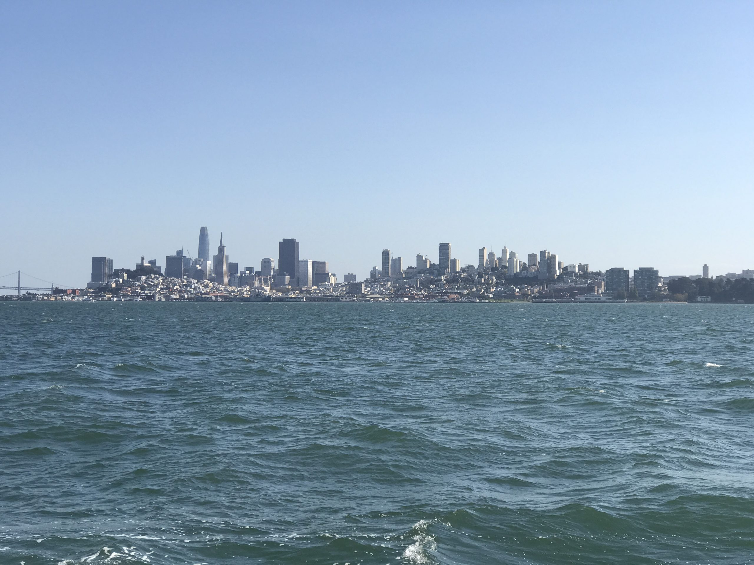 a picture of San Francisco Skyline taken by VANTIQ from the Empress cruise