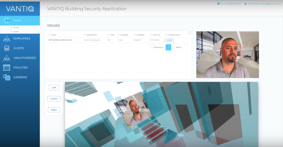 VANTIQ showing what the real-time application for security looks like