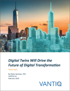 vantiq digital twin whitepaper cover image