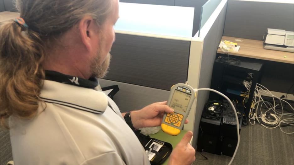installing the ip cameras at the VANTIQ headquarters