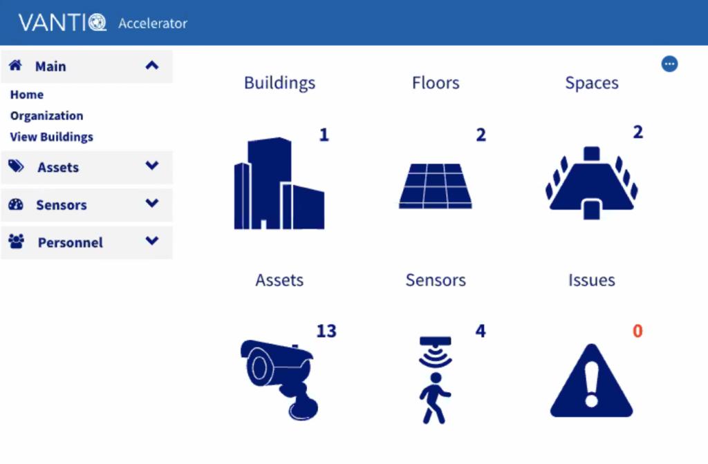 Screenshot of VANTIQ App