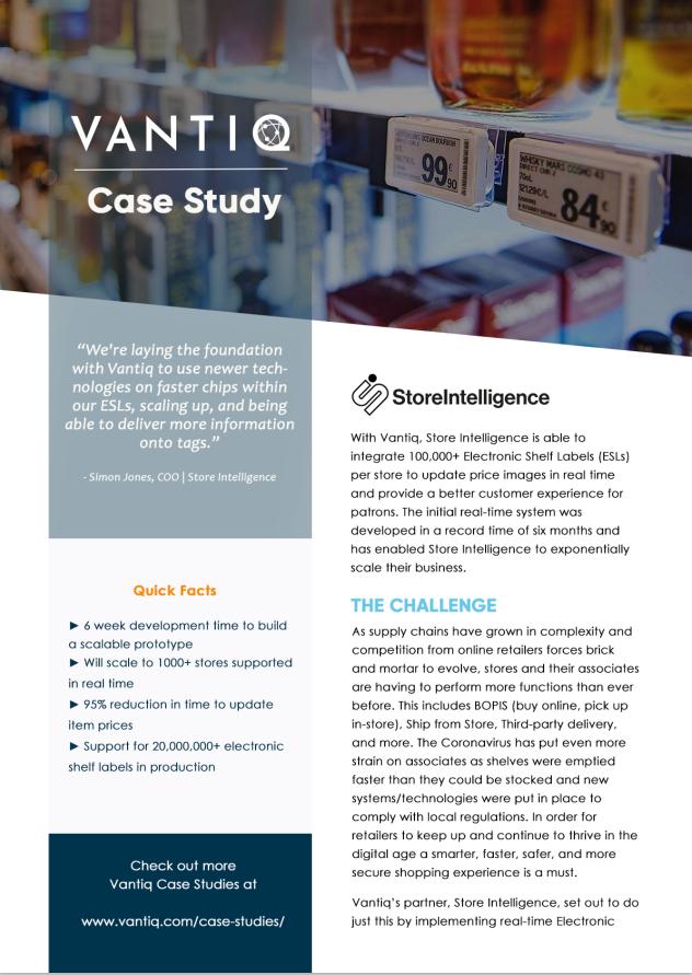 vantiq store intelligence case study banner