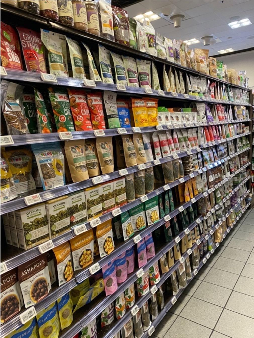 Store Intelligence Electronic Labels on Shelves