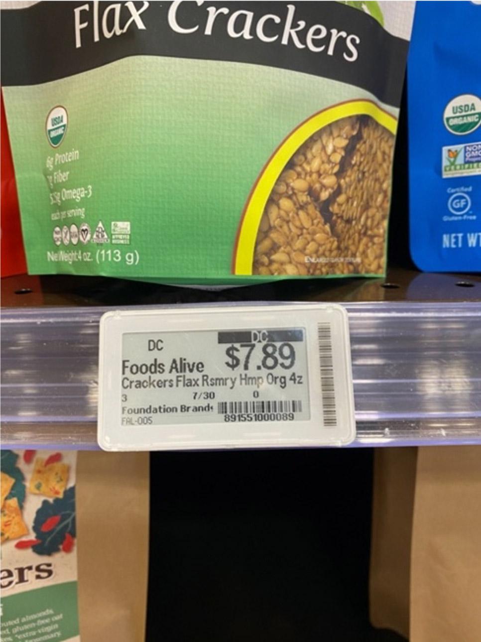 Store Intelligence Electronic Shelf Label