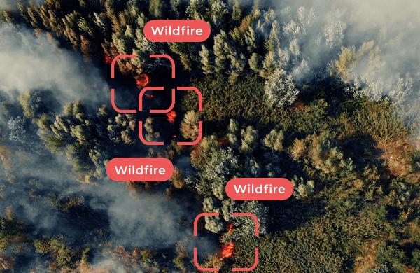 wildfire detection Chooch